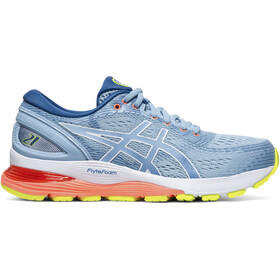 asics Gel-Nimbus 21 Shoes Dame heritage blue/lake drive